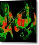 A Psychedelic Rush Metal Print