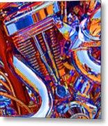 Psychodelic Chopper-1 Metal Print