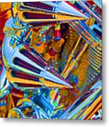 Psychodelic Chopper-2 Metal Print