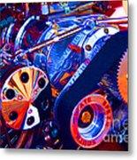 Psychodelic Supercharger-1 Metal Print