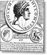 Ptolemy Vi (d. 145 B.c.) Metal Print
