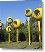 public art in Qingdao Metal Print