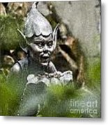Puck In The Garden Metal Print by Heiko Koehrer-Wagner