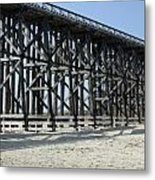 Pudding Creek Bridge Metal Print