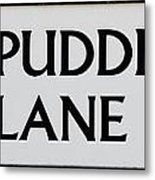 Pudding Lane Metal Print