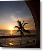 Puerto Rican Sunset I Metal Print