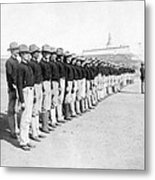 Puerto Ricans Serving In The American Colonial Army - C 1899 Metal Print