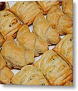 Puff Pastry Party Tray Metal Print