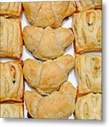 Puff Pastry Party Tray Pano Metal Print