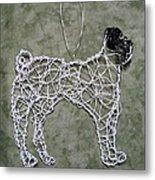 Pug Metal Print by Charlene White