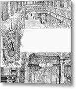Pullman: Arcade, C1885 Metal Print