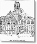 Pullman: Schoolhouse Metal Print
