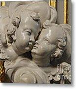 Pulpit Angels 1 Metal Print