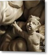 Pulpit Angels 2 Metal Print