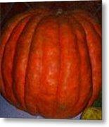 Pumpkin In Spain Metal Print