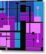 Punch Metal Print by Ely Arsha