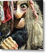Puppet In Prague Metal Print
