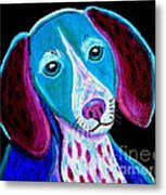 Puppy Love Metal Print by Nick Gustafson