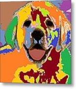 puppy Portrait 7 Metal Print