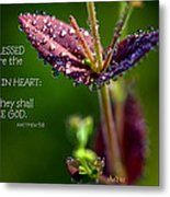 Pure In Heart Metal Print