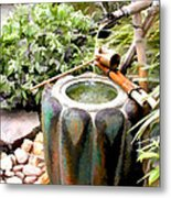 Purification Basin For Tea Ceremony Metal Print
