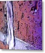 Purple Damage. Metal Print