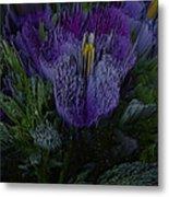Purple Flower Springs Metal Print