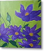 Purple Glory  Metal Print