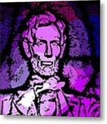 Purple Lincoln Metal Print