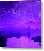 Purple Mist Metal Print
