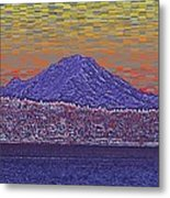 Purple Mountain Majesty Sunset Metal Print