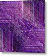 Purple Mystique Metal Print