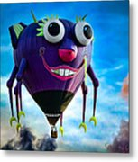 Purple People Eater Metal Print