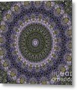 Purple Pleasure Abstract Metal Print