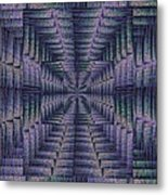 Purple Portal Metal Print