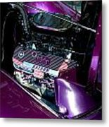 Purple Ratnow Metal Print