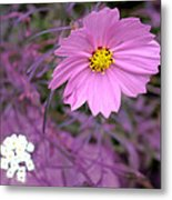 Purple Statement Metal Print