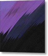 Purple Sunrise Metal Print by Lance  Kelly