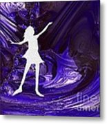 Purple Taffy Metal Print