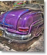 Purplre Car Dearborn Mi Metal Print