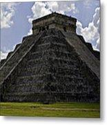 Pyramid  Of Kukulkan  Metal Print