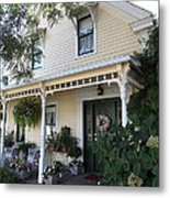 Quaint House Architecture - Benicia California - 5d18794 Metal Print