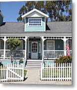 Quaint House Architecture - Benicia California - 5d18817 Metal Print