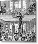 Quaker Meeting House Metal Print