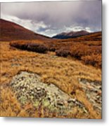 Quanella Pass Metal Print by Dragonfly 7