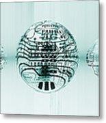 Quantum Computing Metal Print by Mehau Kulyk