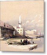 Quay At Suez Febrary 11th 1839 Metal Print