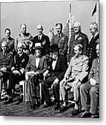 Quebec Conference, 1944 Metal Print