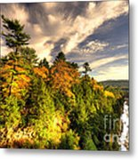 Quechee Gorge In The Fall  Metal Print