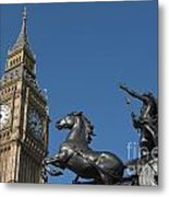 Queen Boadicea Metal Print
